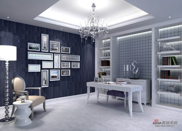 欧式风格300平方米叠层设计