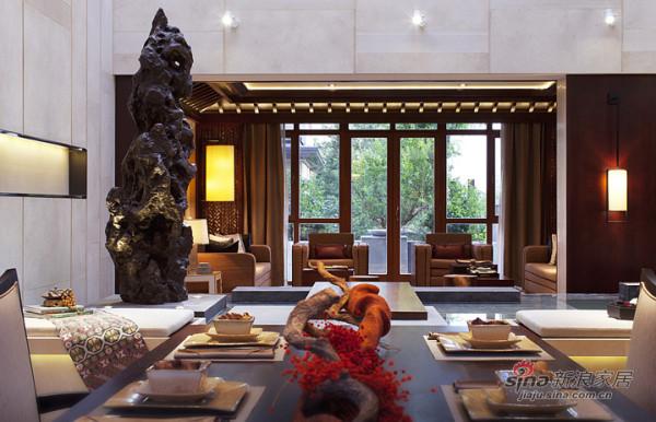 1层-餐厅望向客厅