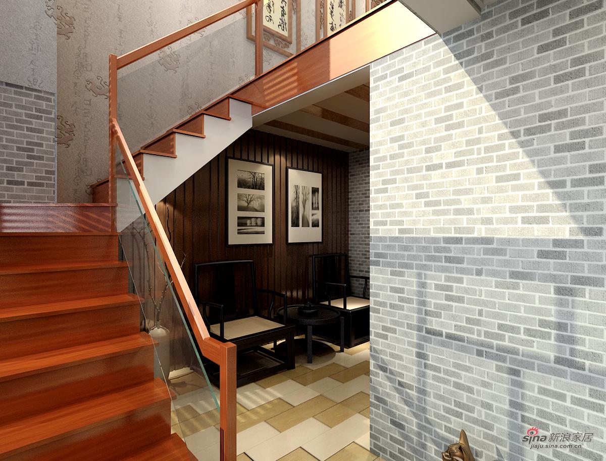 中式 三居 楼梯图片来自用户1907659705在我的专辑459485的分享