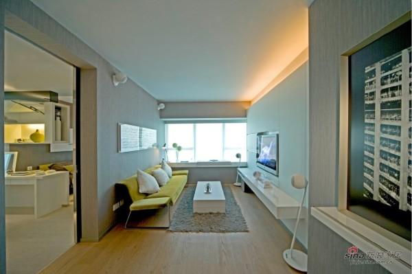 清新小户型的客厅设计