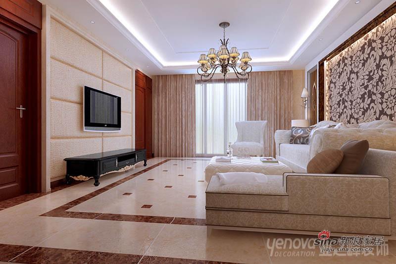 欧式 别墅 客厅图片来自用户2746889121在【多图】简欧风格别墅-梦的港湾85的分享