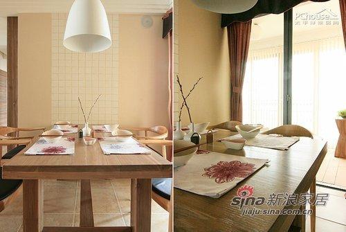 中式 三居 餐厅图片来自用户1907658205在7万装123平中式淡雅新婚居72的分享