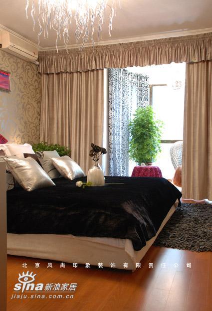 简约 二居 卧室图片来自用户2556216825在珠江帝景售楼处样板间22的分享