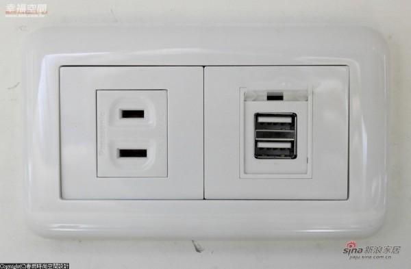 从电器的插座到电槽的设置都多有用心
