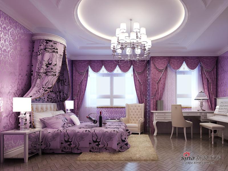 简约 别墅 卧室图片来自用户2738093703在润泽庄园户型案例15的分享