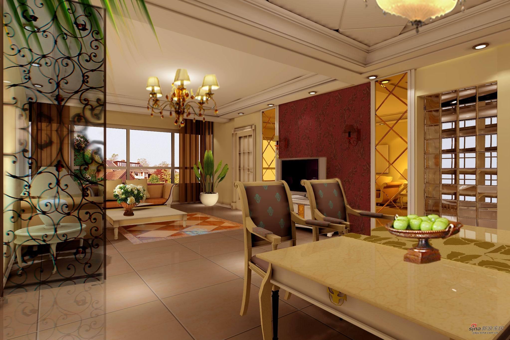 欧式 三居 客厅图片来自用户2772873991在简欧佳作64的分享