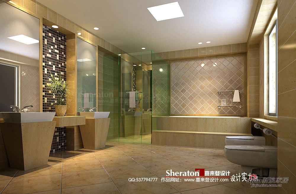 新古典 别墅 卫生间图片来自用户1907664341在我的专辑383559的分享