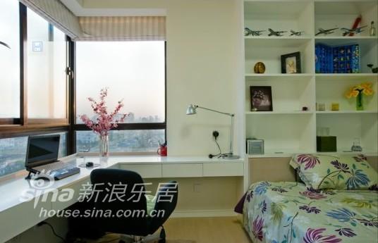 简约 三居 卧室图片来自用户2738820801在无雅视觉12的分享