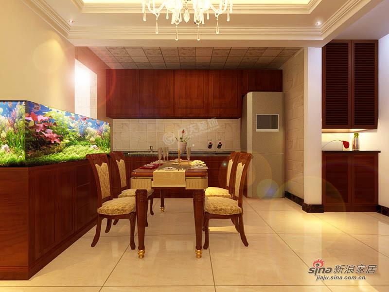 欧式 三居 餐厅图片来自用户2772873991在欧美小镇117平米-三室两厅-简欧风格48的分享