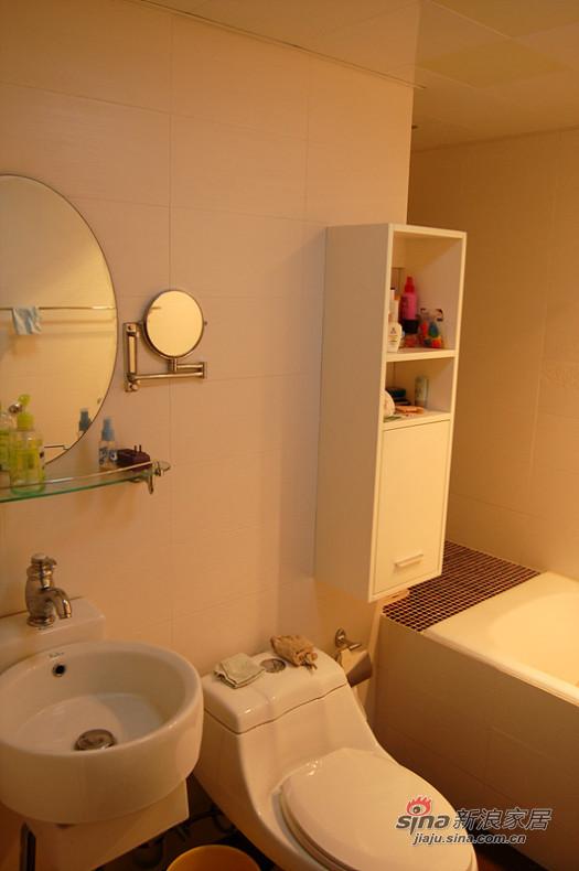 简约 二居 卫生间图片来自用户2738813661在三口家5.5万装85平简约时尚2居12的分享