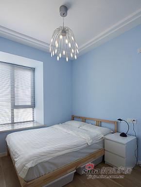 现代 三居 卧室 屌丝图片来自装修微日记在【高清】89平宜家现代风格三居室66的分享