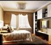 暖色调打造兰亭都荟三居室装修设计38