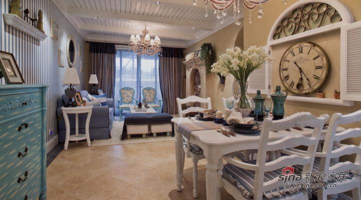 地中海 三居 餐厅图片来自用户2757320995在地中海式风格设计70的分享