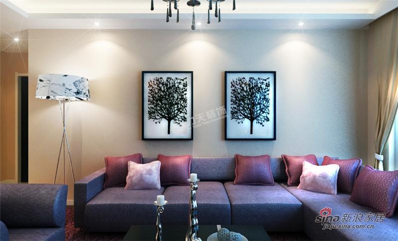 简约 二居 客厅图片来自用户2557010253在南益名仕华庭99平米-两室两厅-现代简约70的分享