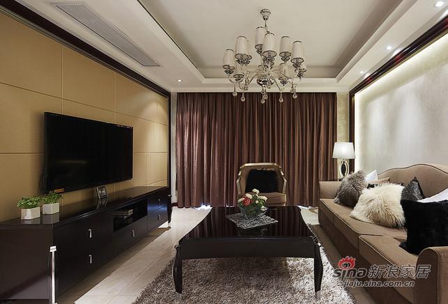 新古典 三居 客厅图片来自用户1907701233在【高清】8万装126平新古典时尚大气家31的分享
