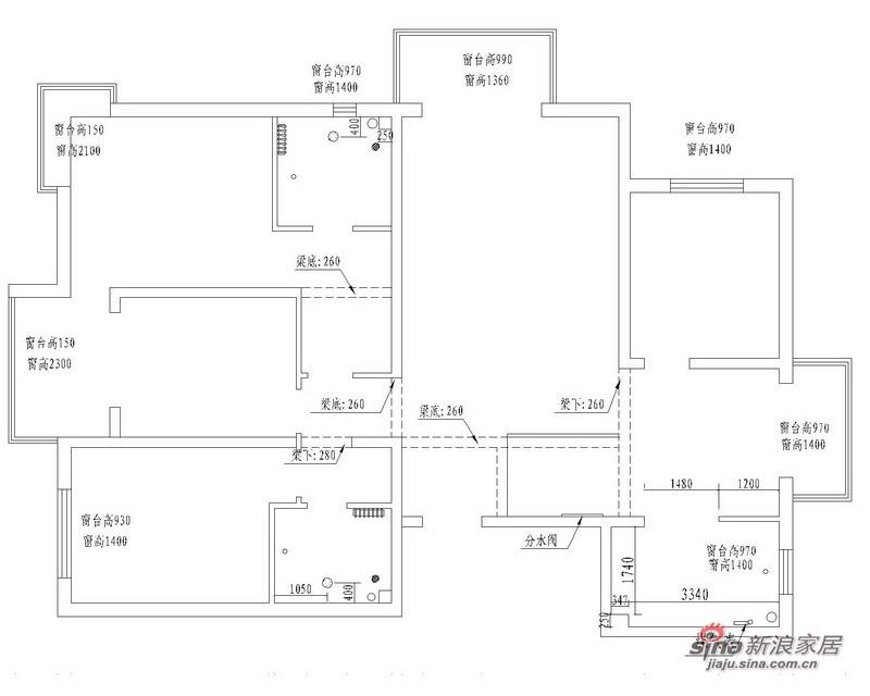 简约 三居 客厅图片来自用户2737950087在旧房改造130平明亮简约 功能实用3室2厅99的分享
