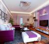客厅与卧室色调搭配的非常完美