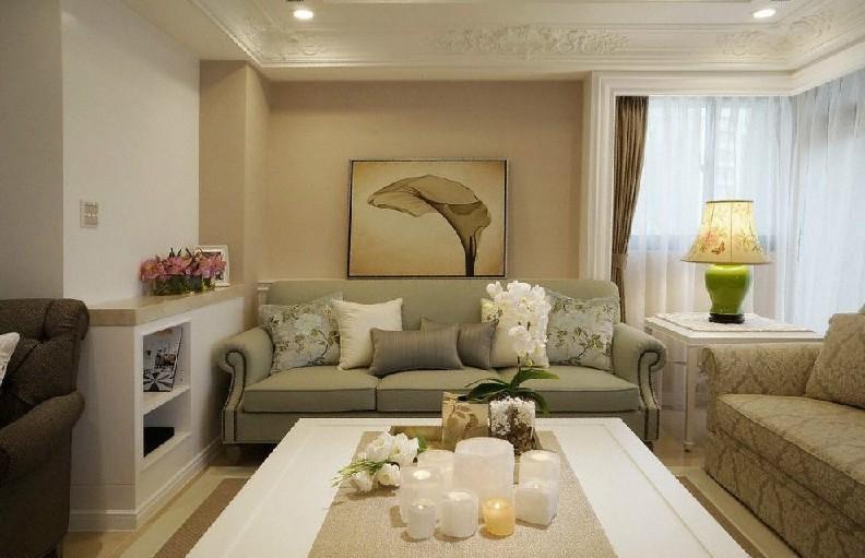 欧式 三居 客厅图片来自用户2746953981在【多图】精装欧式实景200平大三居16的分享