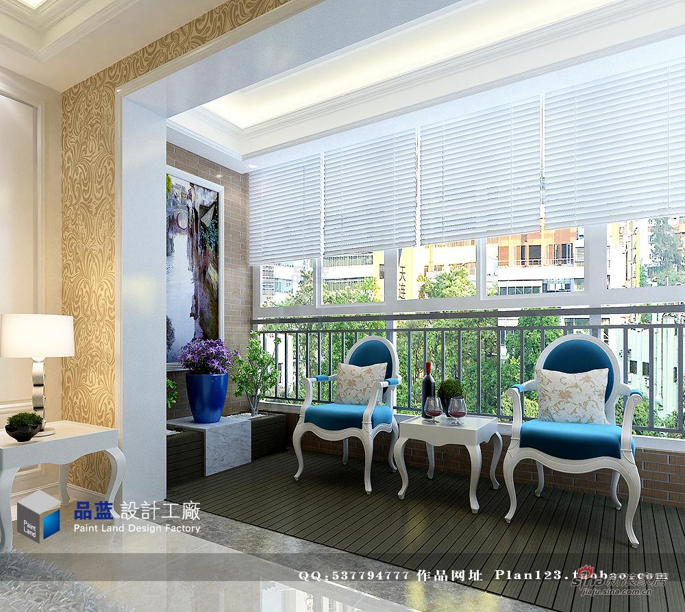 欧式 三居 客厅图片来自用户2772873991在【多图】118平米米兰春天简约欧式样板房64的分享
