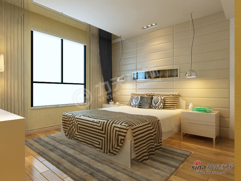 简约 三居 卧室图片来自阳光力天装饰在我的专辑316921的分享