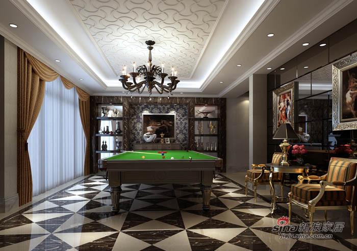 新古典 别墅 其他图片来自用户1907664341在280平高贵大气典雅舒适别墅86的分享