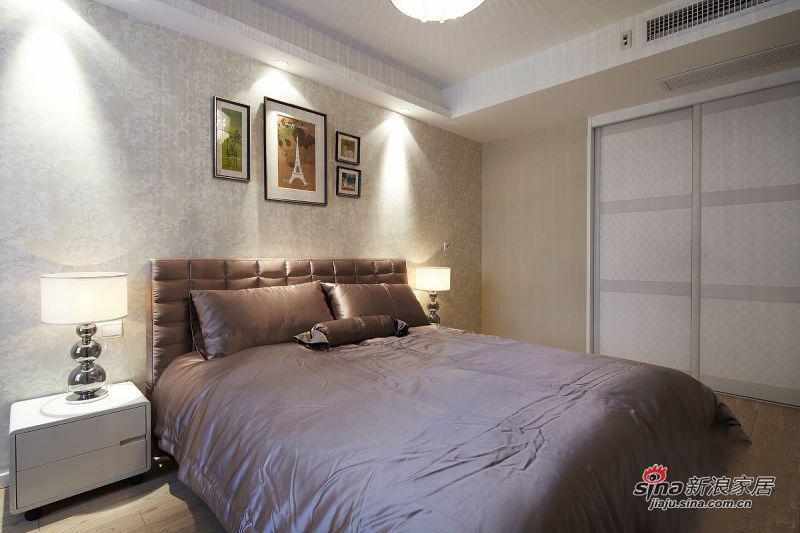 简约 二居 卧室图片来自用户2739378857在6万实景秀108平时尚简约系乐活家13的分享