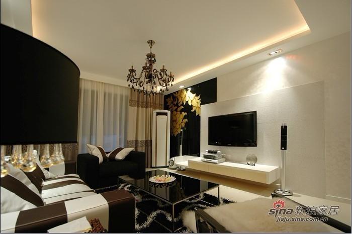 简约 三居 客厅图片来自用户2738829145在8.8万装扮130平现代简约三居室39的分享
