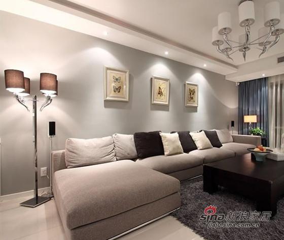 简约 三居 客厅图片来自用户2737759857在时尚潮流98平演绎二居室美家74的分享