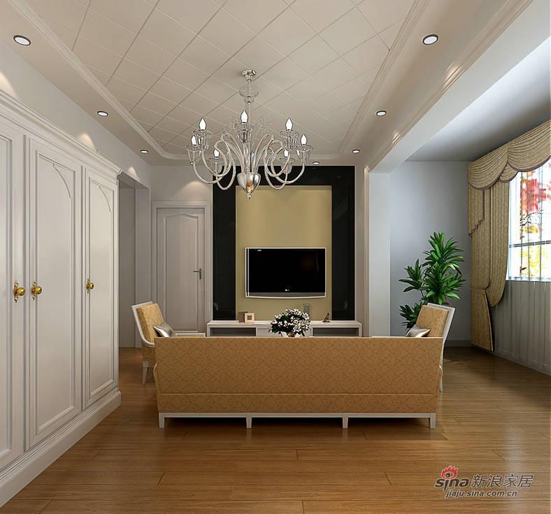 混搭 别墅 卧室图片来自用户1907655435在【精】160平别墅中西混搭风格13.6万20的分享