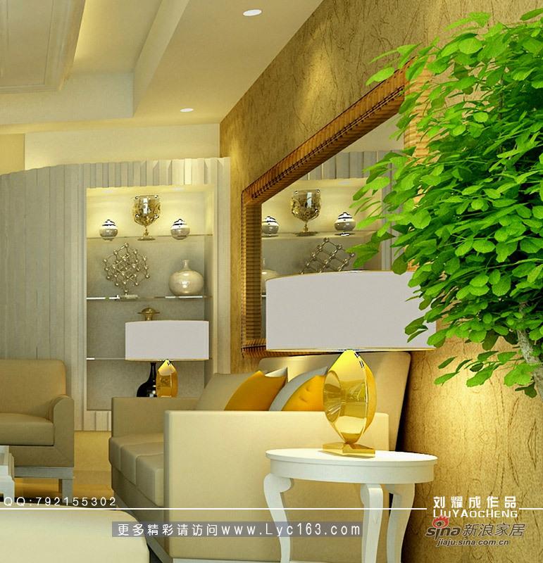 简约 三居 客厅图片来自用户2737782783在室内设计师中了500万的遐想之三现代欧式风格33的分享