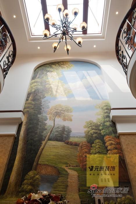 欧式 别墅 客厅图片来自用户2745758987在270平米旭辉十九城邦联排别墅欧式风格46的分享