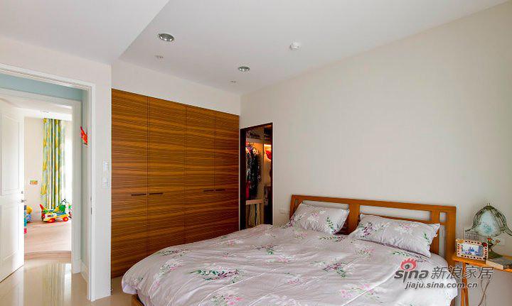 北欧 二居 卧室图片来自装修微日记在【高清】11万营造79平北欧时尚两居41的分享