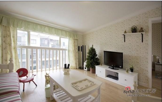 其他 复式 客厅图片来自用户2557963305在122平温馨田园+蓝白色地中海41的分享