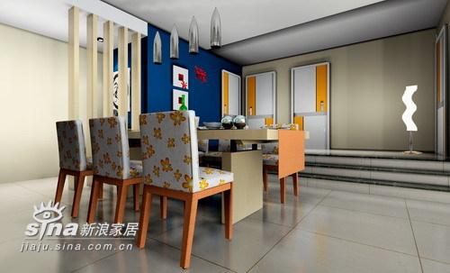 简约 三居 餐厅图片来自用户2737786973在九重天13栋3楼80的分享