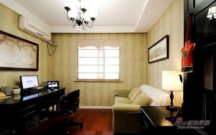 简约 三居 书房图片来自用户2737782783在实景9万秀150平方3居室婚房19的分享