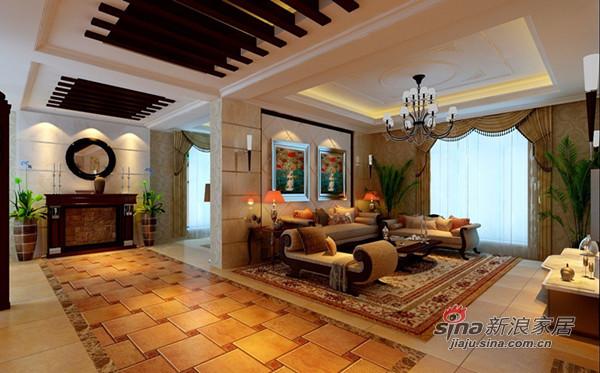 欧式 四居 客厅图片来自用户2772873991在180平奢华欧式大宅68的分享