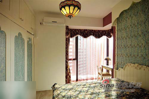简约 二居 卧室图片来自用户2557010253在新婚小两口60平温馨田园美家37的分享