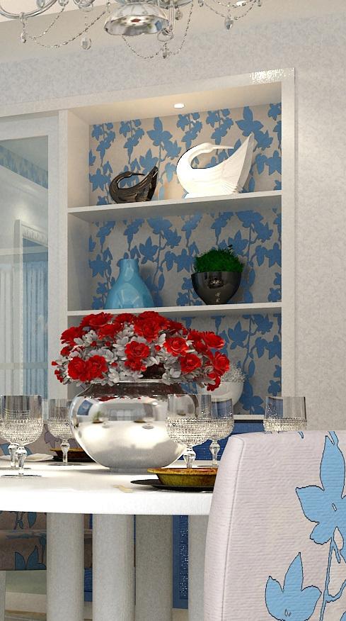 地中海 四居 餐厅图片来自用户2756243717在15万巧思140平情迷地中海10的分享