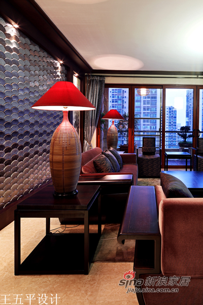中式 三居 客厅图片来自用户1907659705在【多图】新中式的魅惑27的分享