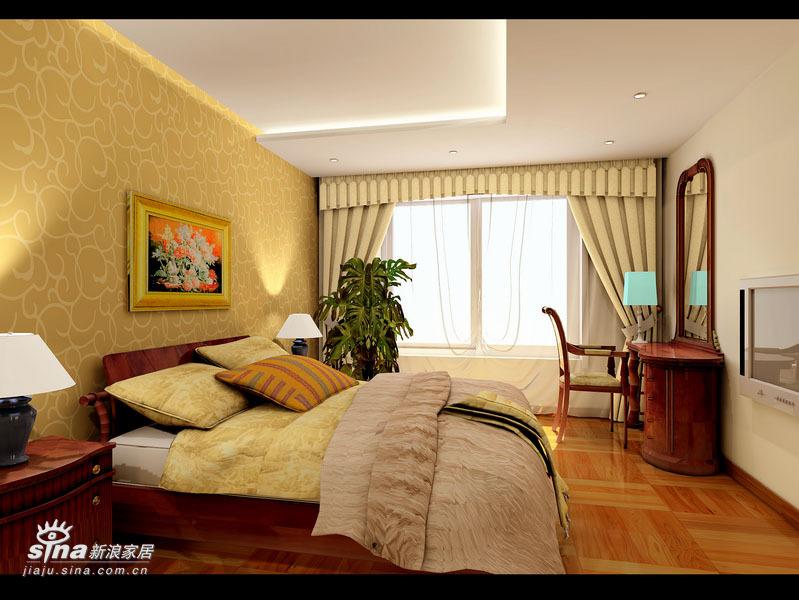 简约 三居 卧室图片来自用户2745807237在顺驰领海 (挑高层居室)65的分享