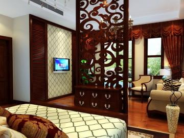 空间结构的丰富,体现温馨、奢华的装饰理念14