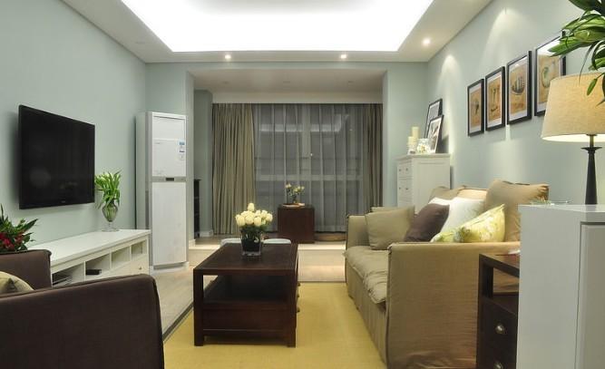 美式 二居 客厅图片来自用户1907686233在7.2万铸造美式田园风格120平loft45的分享