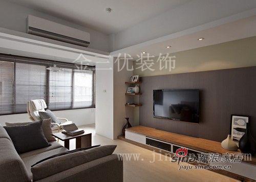 简约 二居 客厅图片来自用户2738093703在直线条的简单22的分享