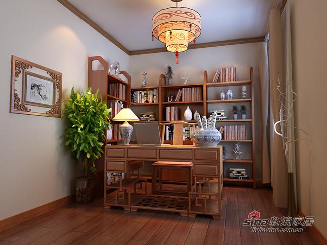 中式 三居 客厅图片来自用户1907662981在7.2万装115平个性中式3居58的分享