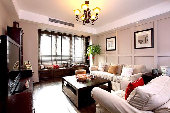 混搭 三居 客厅图片来自用户1907655435在8.8万混搭120平现代三居室49的分享