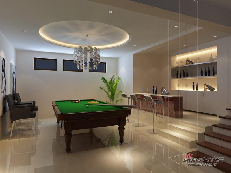 简约 复式 客厅图片来自用户2737782783在时尚、明亮白色简约五口之家79的分享