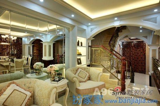 欧式 别墅 客厅图片来自用户2772873991在打造英伦印象的豪华式别墅49的分享