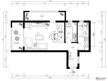 46平米LOFT现代简约首邑溪谷两居室美图39