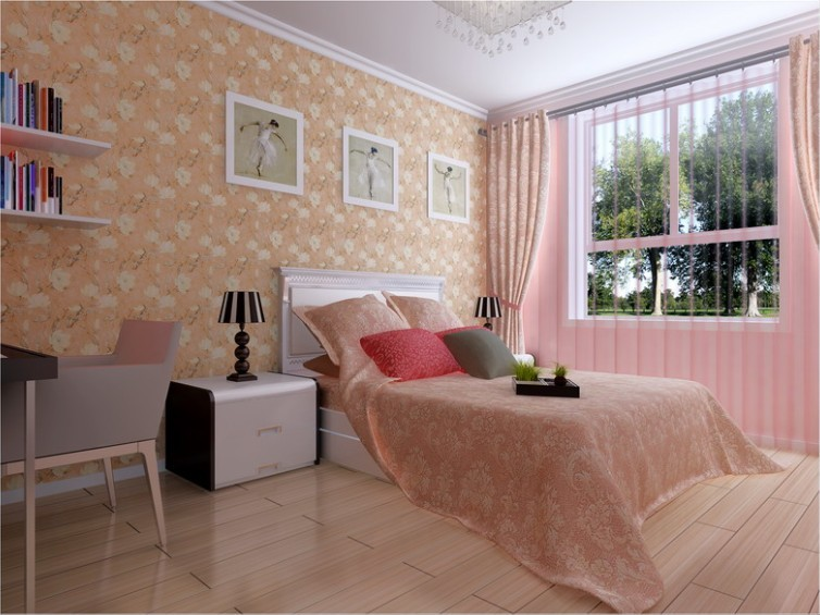 简约 二居 卧室图片来自用户2737950087在现代简约风格强调室内空间宽敞、内外通透49的分享