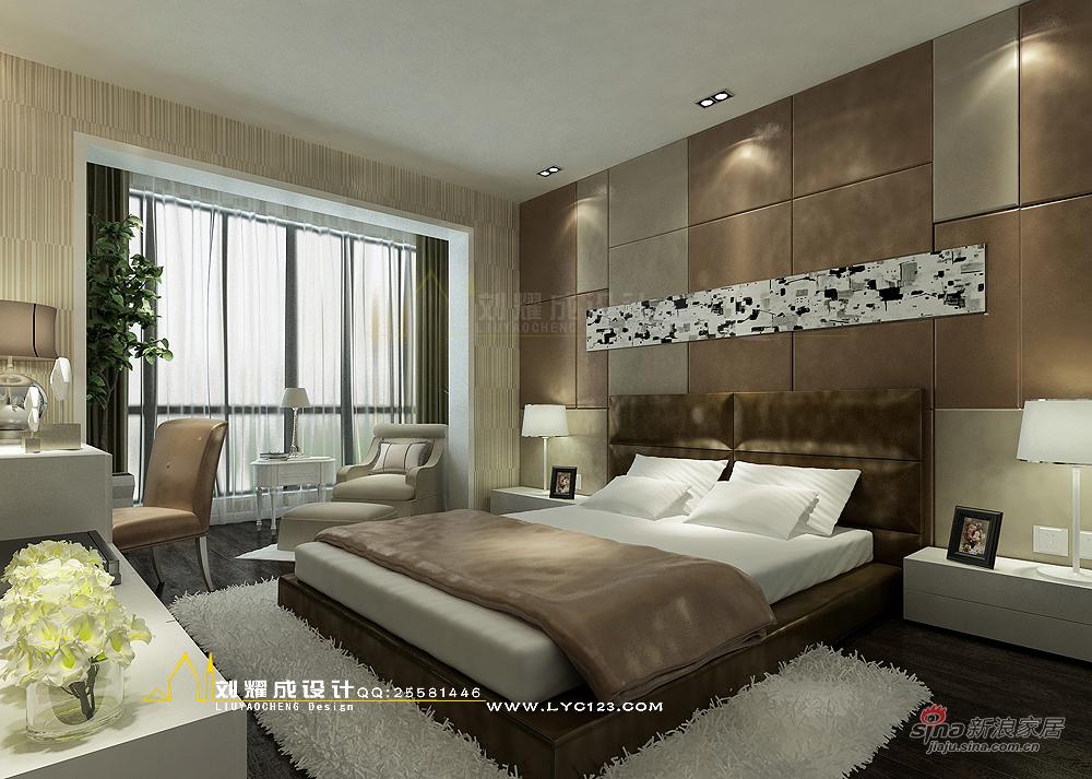 简约 四居 卧室图片来自用户2737735823在【高清】150平唯美的纯净湘潭四居室设计57的分享